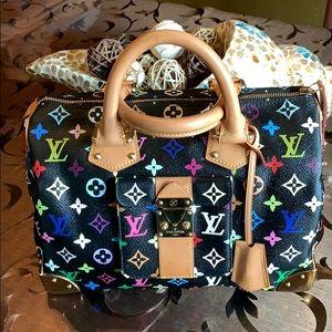 🔥🔥🔥🔥FIRM  Louis Vuitton Multicolore speedy 30